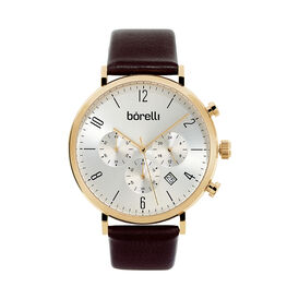 Borelli Herrenuhr Chrono Sl14313g89 Quarz  - Analoguhren Herren   Oro Vivo