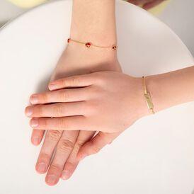 Kinder Id Armband Gold 375 Herz - ID-Armbänder Kinder | Oro Vivo