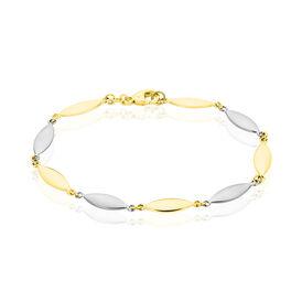 Damenarmband Gold 585 Bicolor  - Armketten Damen | Oro Vivo