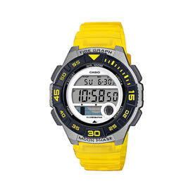 Casio Collection Damenuhr Lws-1100h-9avef Digital - Chronographen Damen   Oro Vivo