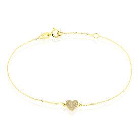 Damenarmband Gold 375 Herz - Armbänder  | Oro Vivo