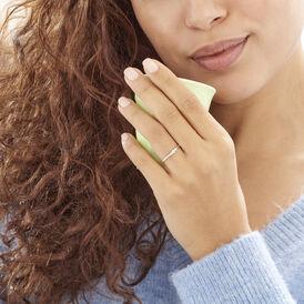 Damenring Weißgold 375 Diamant 0,11ct - Black Friday Damen | Oro Vivo