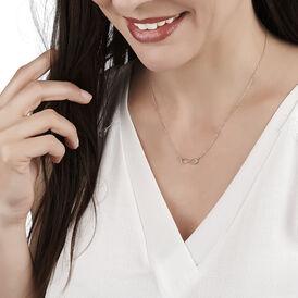 Damen Halskette Gold 375 Infinity - Ketten mit Anhänger Damen | Oro Vivo
