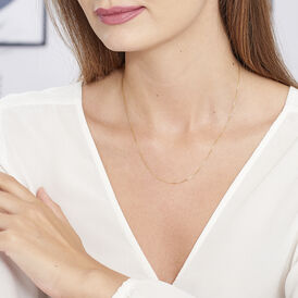 Damen Veneziakette Gold 375 45cm - Ketten ohne Anhänger Damen | Oro Vivo