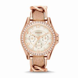 Fossil Damenuhr Riley Es3466 Quarz - Analoguhren Damen | Oro Vivo