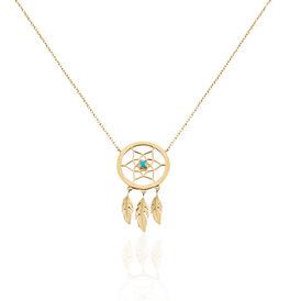 Damen Halskette Vergoldet - Ketten mit Anhänger Damen   Oro Vivo