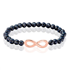 Damenarmband Silber 925 Rosé Vergoldet Infinity - Armbänder Damen | Oro Vivo