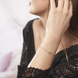 Damenarmband Vergoldet Zirkonia Infinity - Armbänder Damen | Oro Vivo