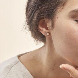 Damen Perlenohrringe Gold 375 Zuchtperlen - Ohrstecker Damen | Oro Vivo