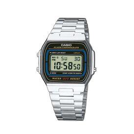 Casio Collection Herrenuhr A164wa-1ves Digital - Digitaluhren Herren   Oro Vivo