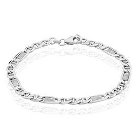Unisexarmband Stegpanzerkette Silber 925  -  Unisexe   Oro Vivo