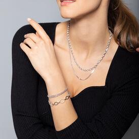 Damenarmband Kugelkette Silber 925  - Armbänder Damen   Oro Vivo