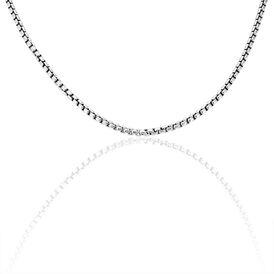 Unisex Veneziakette Silber 925 55cm - Ketten ohne Anhänger Unisexe   Oro Vivo