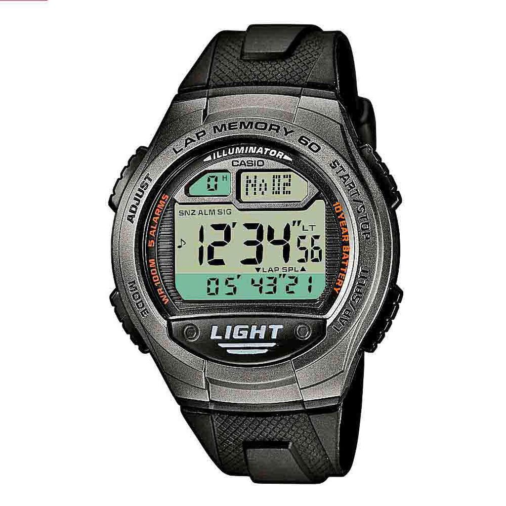 Casio Collection Herrenuhr W-734-1avef Digital - Chronographen Herren | Oro Vivo