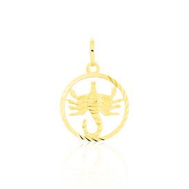 Unisex Anhänger Gold 333 Sternzeichen Skorpion - Personalisierte Geschenke Unisex | Oro Vivo