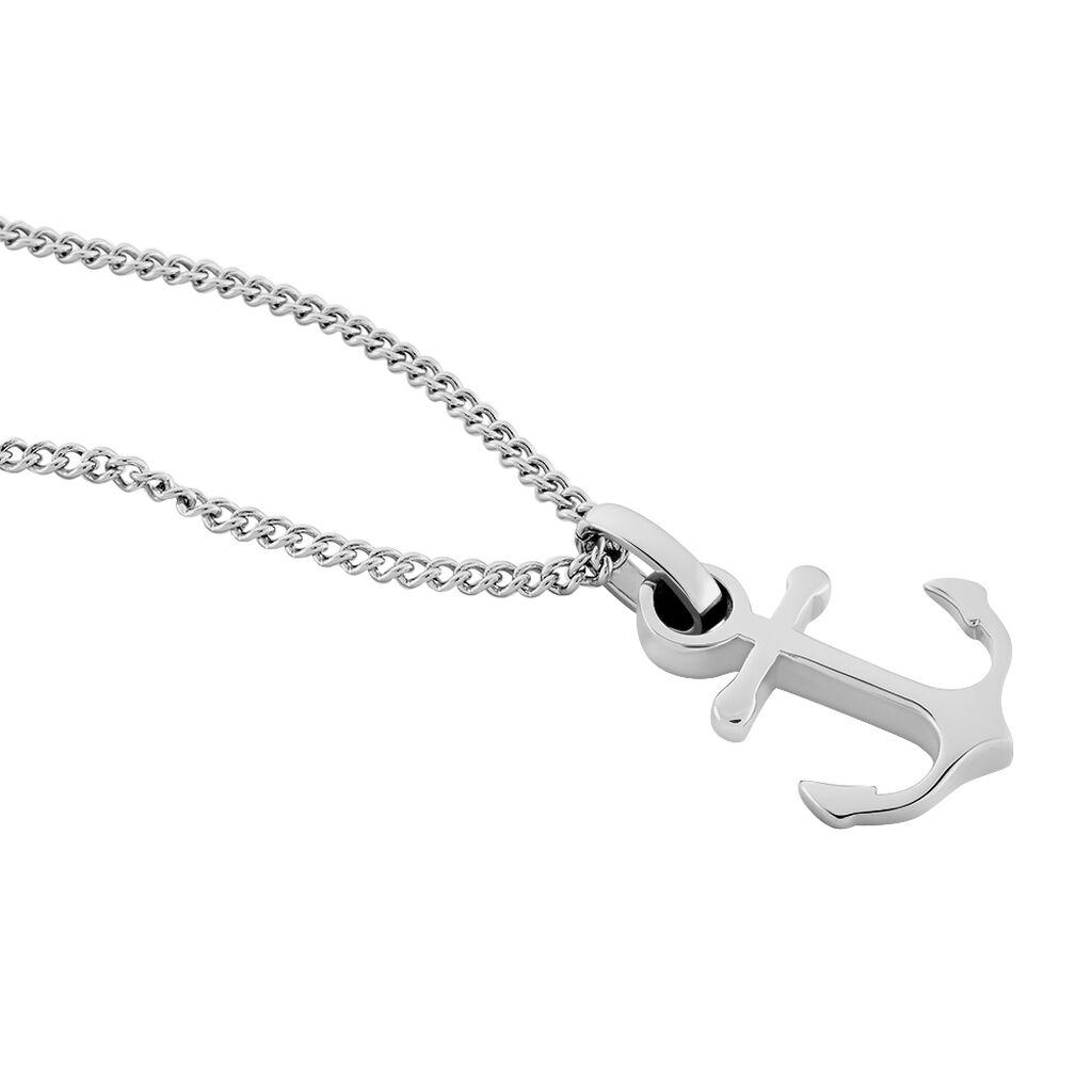 Herren Halskette Edelstahl Anker - Ketten mit Anhänger Herren | Oro Vivo