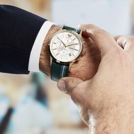 Armani Herrenuhr Ar11233 Quarz-chronograph - Analoguhren Herren   Oro Vivo