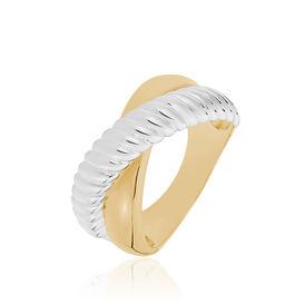 Damenring Silber 925 Vergoldet - Ringe Damen   Oro Vivo