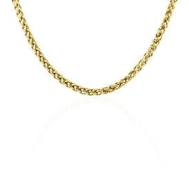 Damen Palmenkette Edelstahl Vergoldet 47cm - Black Friday Damen | Oro Vivo