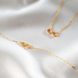 Damenarmband Gold 375 Zirkonia Infinity - Armbänder Damen | Oro Vivo