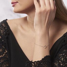 Damenarmband Silber 925 Zirkonia Herz - Armbänder Damen | Oro Vivo