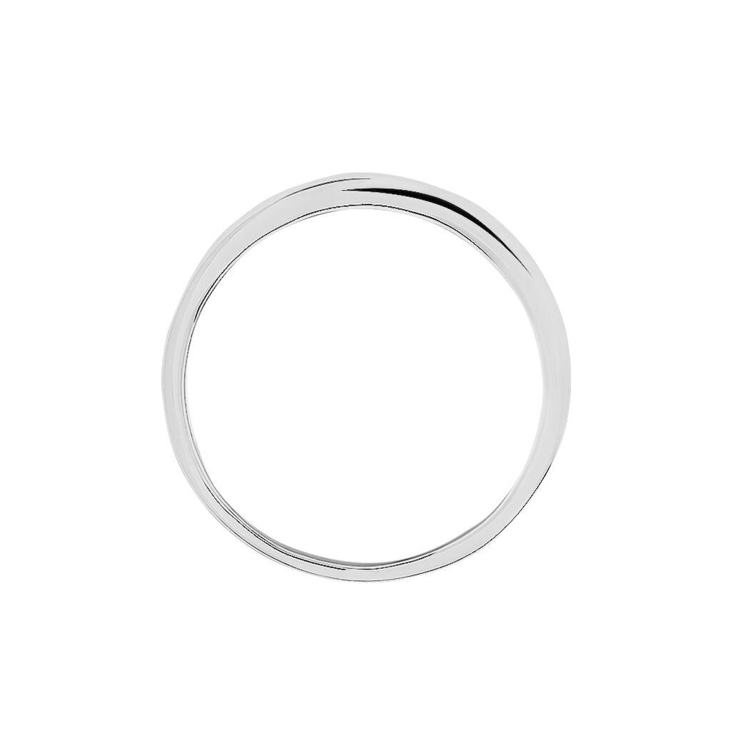 Spannring Silber 925 Bicolor Vergoldet Diamant - Eheringe Damen | Oro Vivo