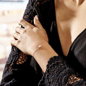 Damenarmband Weißgold 375 Zirkonia Infinity - Armbänder Damen | Oro Vivo