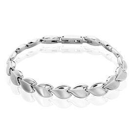 Damenarmband Edelstahl Blüttenblatt - Armbänder Damen   Oro Vivo