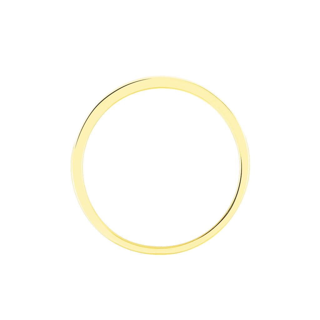 Damenring Gold 750 Diamanten 0,055ct - Eheringe Damen   Oro Vivo