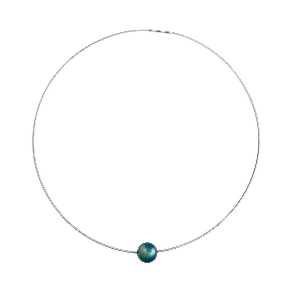 Damen Halsreif Edelstahl Tahiti-perle - Ketten mit Anhänger Damen | Oro Vivo