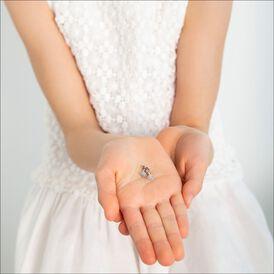 Kinder Ohrstecker Silber 925 Blauer Kristall Blume - Ohrstecker Kinder | Oro Vivo