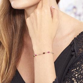 Damenarmband Vergoldet Synthetischer Stein  - Armbänder Damen | Oro Vivo