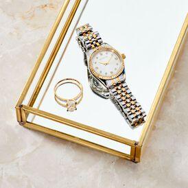 Damenring Gold 375 Zirkonia - Ringe mit Stein  | Oro Vivo