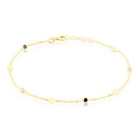Damenarmband Gold 375 Roter Zirkonia - Armbänder Damen | Oro Vivo