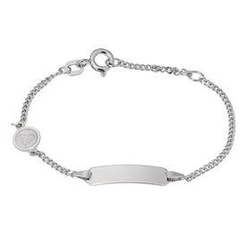 Kinder Id Armband Panzerkette Silber 925 Engel -  Kinder | Oro Vivo