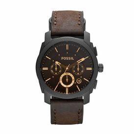 Fossil Herrenuhr Machine Fs4656 Quarz-chronograph - Black Friday Herren | Oro Vivo