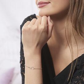 Damenarmband Silber 925 Doppelt Herz - Armbänder Damen | Oro Vivo