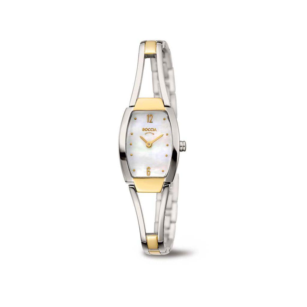 Boccia Damenuhr Titanium 3262-02 Quarz - Analoguhren Damen | Oro Vivo