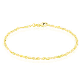 Damenarmband Singapurkette Gold 375 -  Damen | Oro Vivo
