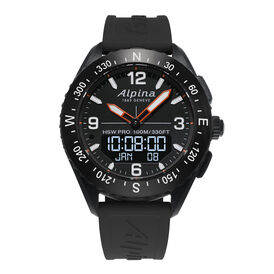 Alpina Herrenuhr Alpinerx Al-283lbb5aq6 Smartwatch - Black Friday Herren | Oro Vivo