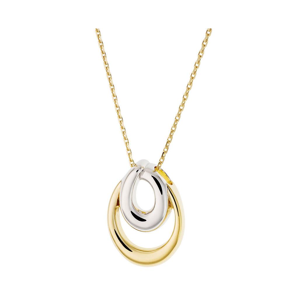 Damen Halskette Vergoldet Bicolor  - Ketten mit Anhänger Damen | Oro Vivo