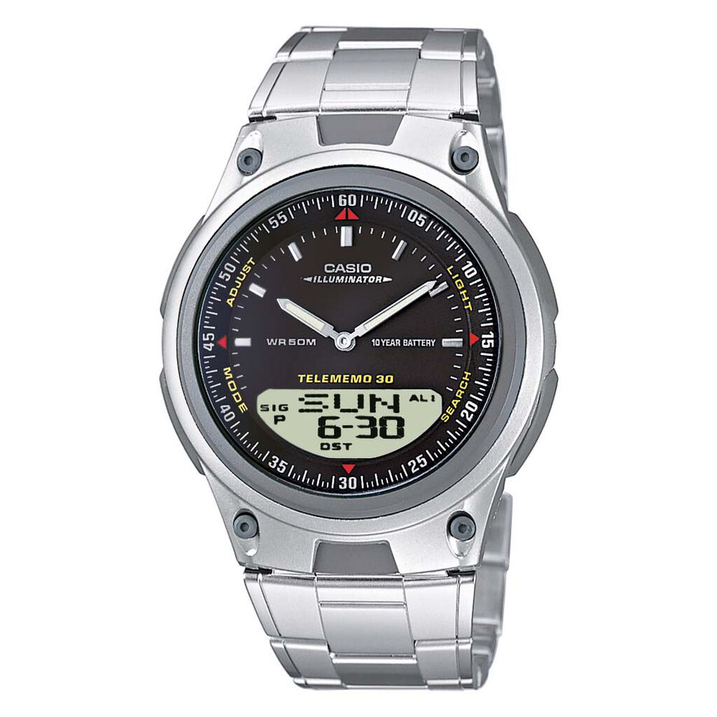 Casio Collection Herrenuhr Aw-80d-1aves Digital - Analog-Digital Uhren Herren | Oro Vivo