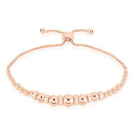 Damenkugelarmband Silber 925 Rosé Vergoldet - Armbänder Damen | Oro Vivo