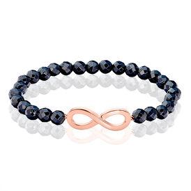 Damenarmband Silber 925 Rosé Vergoldet Infinity - Black Friday Damen | Oro Vivo