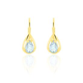 Damen Ohrhänger Gold 333 Topas  -  Damen | Oro Vivo