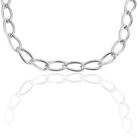 Damen Collier Silber 925 45cm - Ketten ohne Anhänger    Oro Vivo
