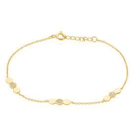 Damenarmband Silber 925 Vergoldet Zirkonia - Armbänder Damen | Oro Vivo