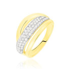 Damenring Gold 750 Diamanten 0,513ct - Ringe mit Edelsteinen Damen | Oro Vivo