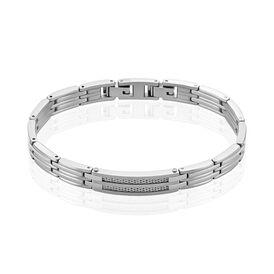 Herrenarmband Edelstahl  - Armbänder  | Oro Vivo