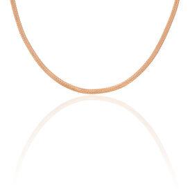 Damen Collier Edelstahl Rosé Vergoldet - Black Friday Damen | Oro Vivo